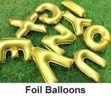 Foil Letter Balloons to Nepal