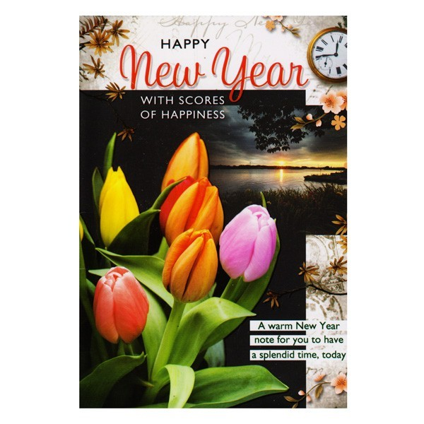 Buy New Year Greeting Card OnlineShop | Giftmandu | Gifts ...