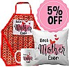 'Best Mother Ever' Printed Cushion, Mug & Apron Gift Set