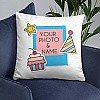 Personalize Birthday Cushion Print (Name & Photo) - 02