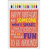 Happy Birthday to Someone - Greeting Card