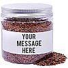 Flax Seeds In Personalize Message Jar - 200gm