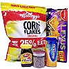 Kismis, Honey, Biscuits, Horlicks & Cornflakes Combo