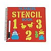 Number Stencil Book for Kids