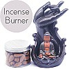 Buddha Backflow Incense Burner For Spa Home Office - Incense Box Included
