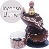 Little Monk Backflow Incense Burner - Incense Box Included