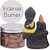 Little Buddha Backflow Incense Burner (Incense Box Included)