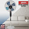 "Baltra 16"" Stand Fan, 3 Speed, Metal Blade, 55W (Dhoom Metal, BF-177)"