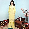 Kurta Set - Yellow Tops and Bottom Palazzo
