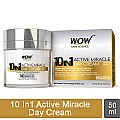 Wow 10 IN 1 Active Miracle Day Cream 50ml