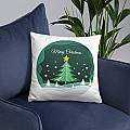 ''Merry Christmas'' Printed Cushion Gift (02)