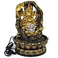 Attractive Table Top Sitting Ganesh Ji Water Fountain 10.5''