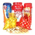 Healthy Goodies With Dry Nuts Bags