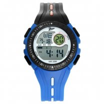 Titan Zoop Digital Blue Strap Watch for Kids - 16007PP04