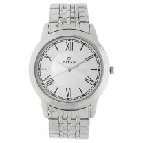 Titan Stainless Steel Strap Watch for Men  (1735SM01)
