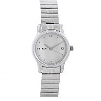 Titan Analog With Date Watch For Women - 2490SM02
