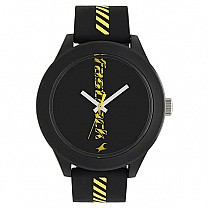 Fastrack Road Trip Black Dial Analog Unisex Watch - 38003PP21