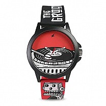 Fastrack Tees Wicked Lines Unisex Watch - 38024PP43