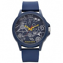 Fastrack Blue Dial Silicone Strap Unisex Watch - 38024PP46