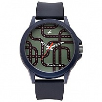 Fastrack Olive Green Dial Unisex Watch - 38024PP50