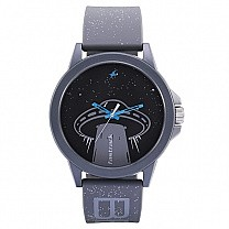 Fastrack Space Rover Black Dial Unisex Watch - 38024PP52
