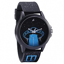 Fastrack Space Rover Black Dial Unisex Watch - 38024PP56