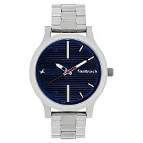 Fastrack Fundamentals Blue Dial Analog Watch for Men- 38051SM03