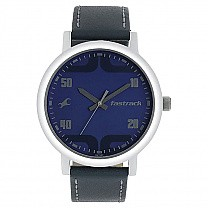 Fastrack Blue Dial Watch For Men- 38052SL06