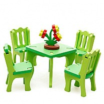 3D Assembling Mini Furniture Chair Toy Set (3+ Years)