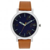 Fastrack Blue Dial Analog Watch for Women- 68010SL04