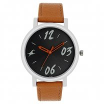 Fastrack Tropical Black Dial Analog Watch for Women- 68010SL06