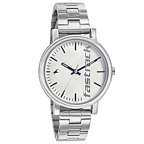 Fastrack White Dial Analog Watch for Women - 68010SM01