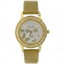 Sonata Silver Dial Analog Watch For Women - 8123YL01