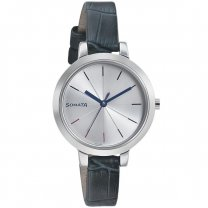 Sonata BusyBees Silver Dial Analog Watch For Women - 8141SL02