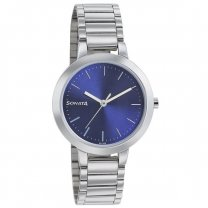Sonata BusyBees Blue Dial Analog Watch For Women - 8141SM05