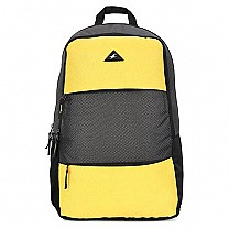 Fastrack Textured Yellow Laptop Backpack For Men - A0638NYL01