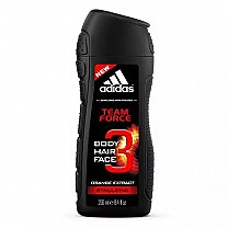 Adidas Team Force 3 in 1 Shower Gel 250 ml