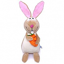 Adorable Hanging Rabbit Soft Toy (Brown)