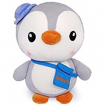 Adorable Penguin Stuffed Soft Toy (Grey)