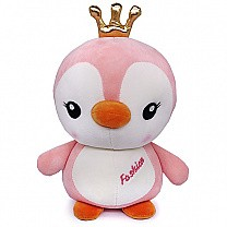 Adorable Penguin Stuffed Soft Toy (Pink)