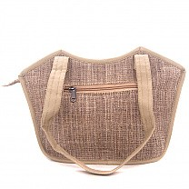 Pure Allo Nettle Fabric Ladies Hand Bag