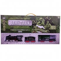 Army Train Toy For Kids 24 Pcs (3+ Years)