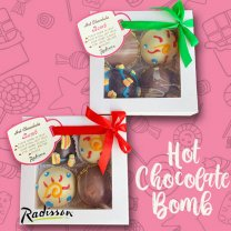 Assorted Hot Chocolate Bomb from Radisson (4Pcs Box)