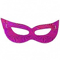 Attractive Party Mask - Pink (10Pcs)