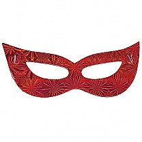 Attractive Party Mask - Red (10Pcs)