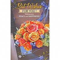 ''Best Wishes for You !'' Greeting Card