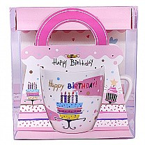 Ceramic Birthday Coffee Mug (02)
