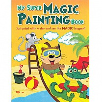 My Super Magic Painting Book By Pegasus