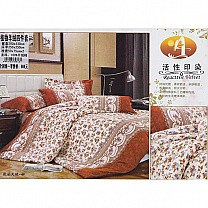 Bed Sheet with Two Pillow & Quilt Cover Set - Floral printed