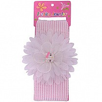 Attractive Kitty Design Baby Headband - White